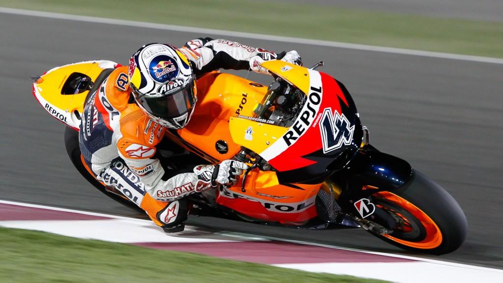 Andrea Dovizioso, Repsol Honda, Qatar FP1