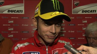 Rossi ready to push on after solid FP1