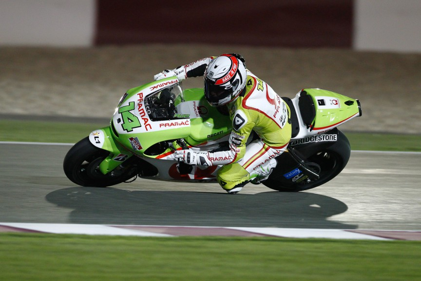 Randy de Puniet, Pramac Racing Team, Qatar Test