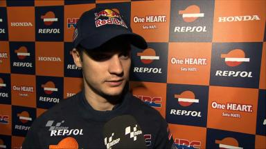 Pedrosa pleased with first practice