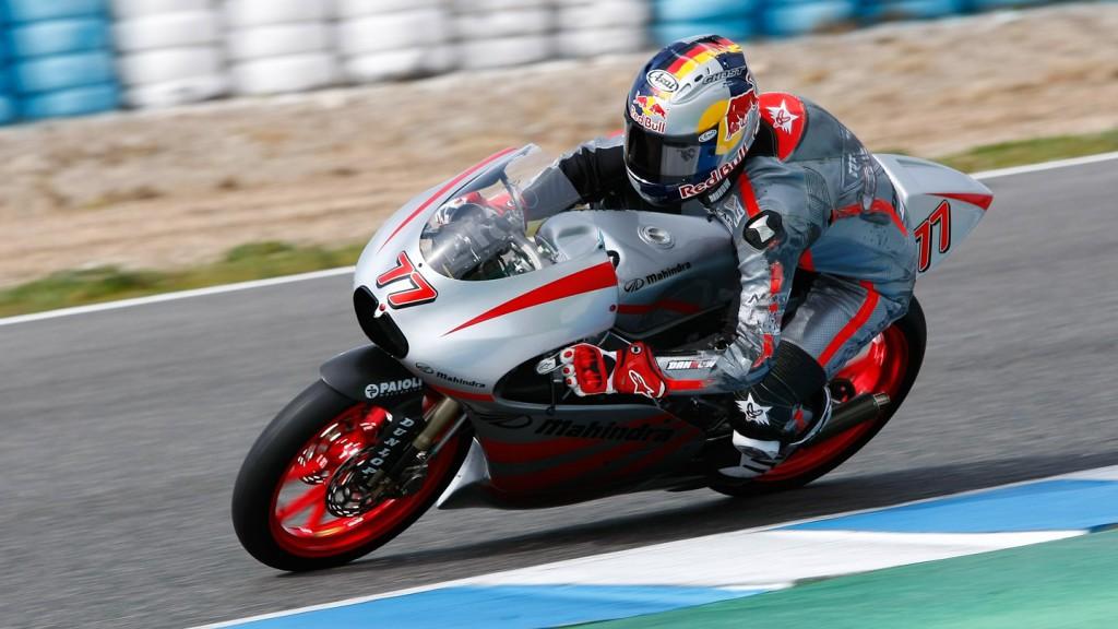 Marcel Schrotter, Mahindra Racing, Jerez Test