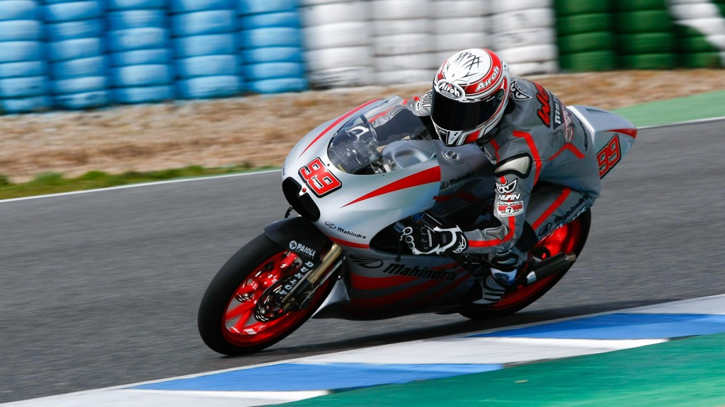 Danny Webb, Mahindra Racing, Jerez Test