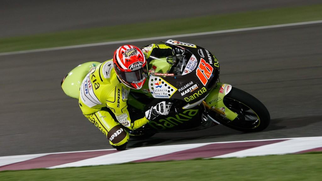 Nico Terol, Bankia Aspar Team, Qatar FP1