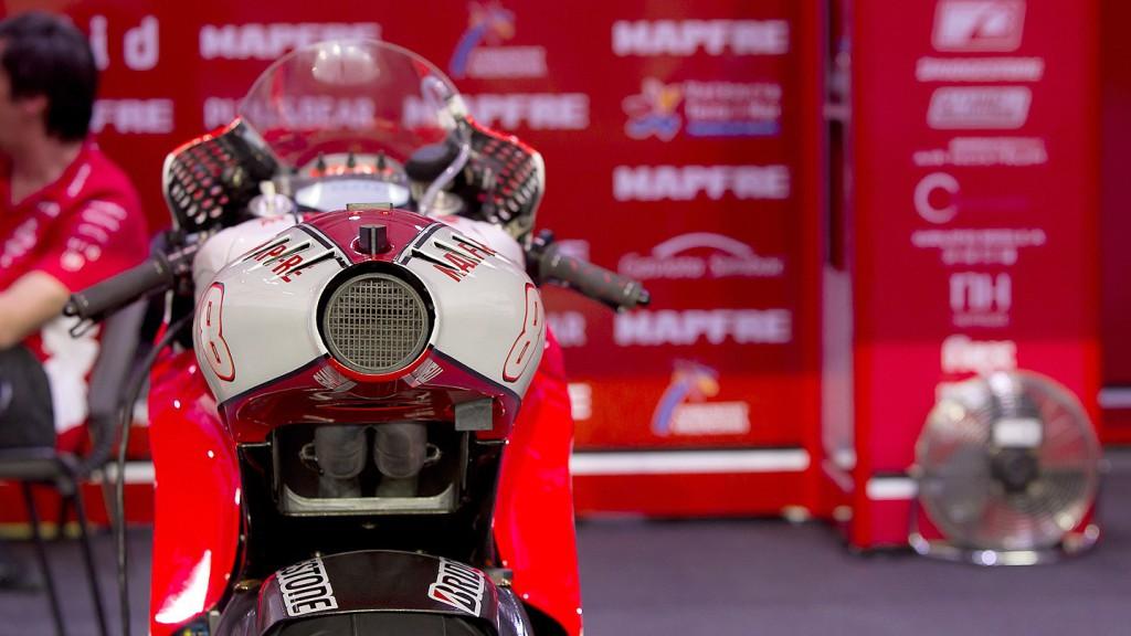 Mapfre Aspar Team MotoGP, Qatar FP1