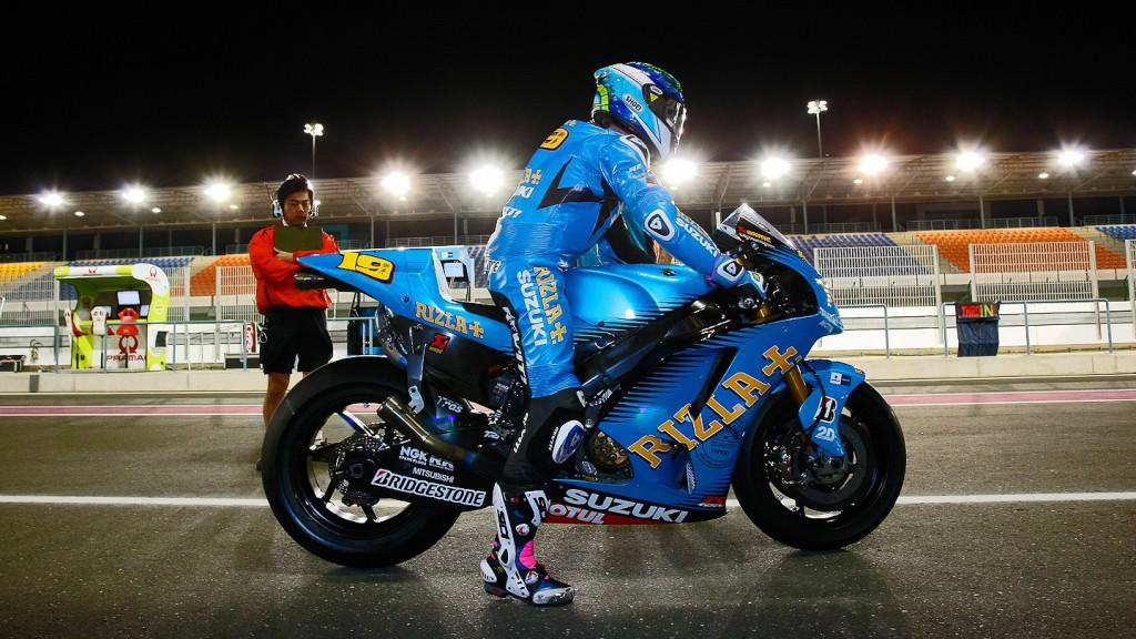 Alvaro Bautista, Rizla Suzuki MotoGP, Qatar FP1