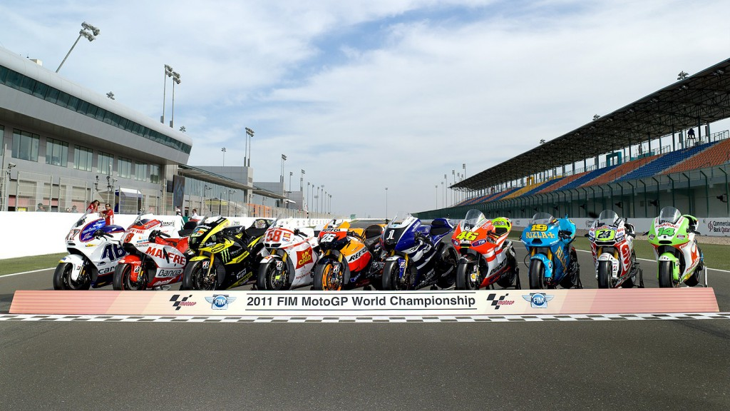 2011 MotoGP World Championship Bikes, Qatar