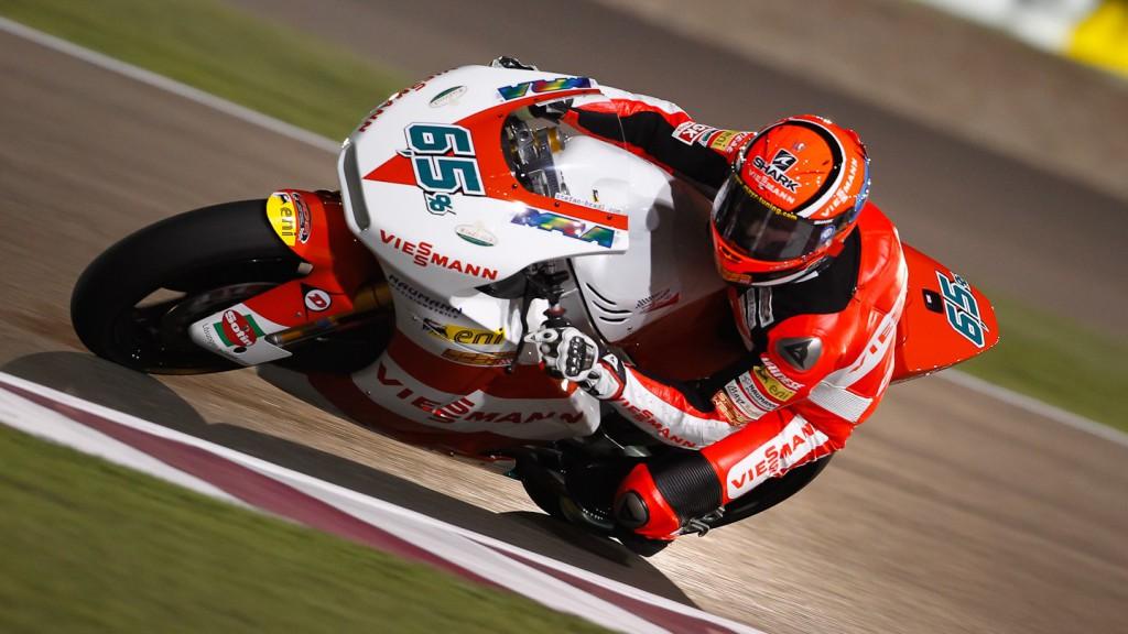 Stefan Bradl, Veissmann Kiefer Racing, Qatar FP1