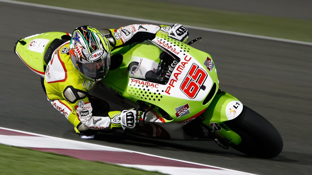 Loris Capirossi, Pramac Racing Team, Qatar FP1