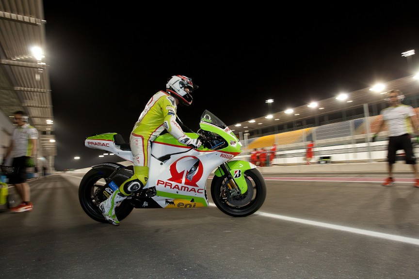 Randy de Puniet, Pramac Racing Team, Qatar FP1