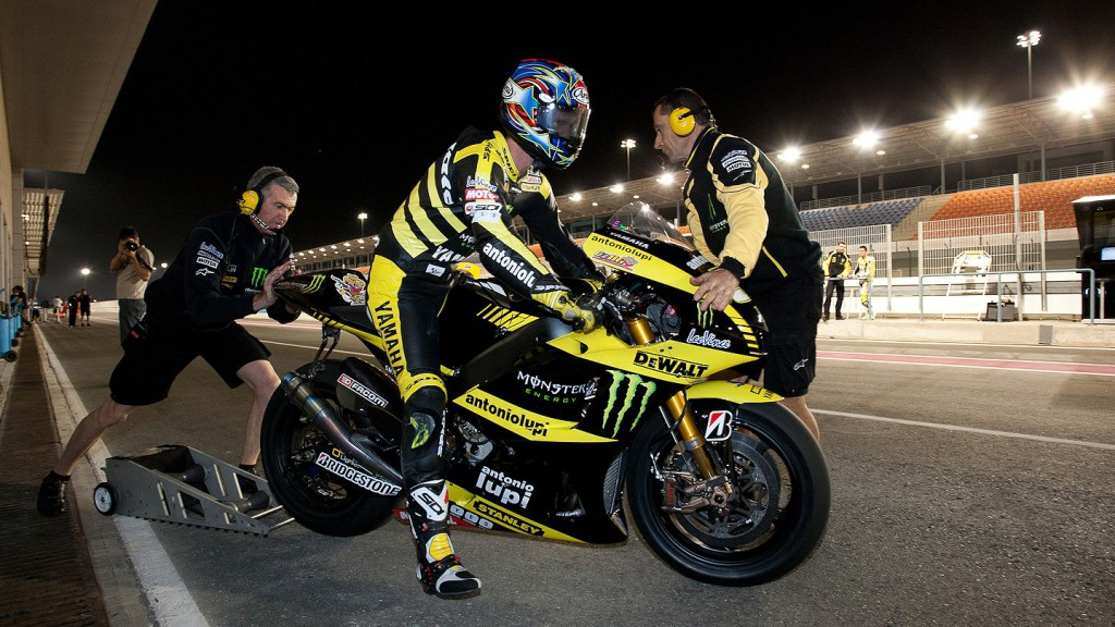 Colin Edwards , Monster Yamaha Tech 3, Qatar FP1