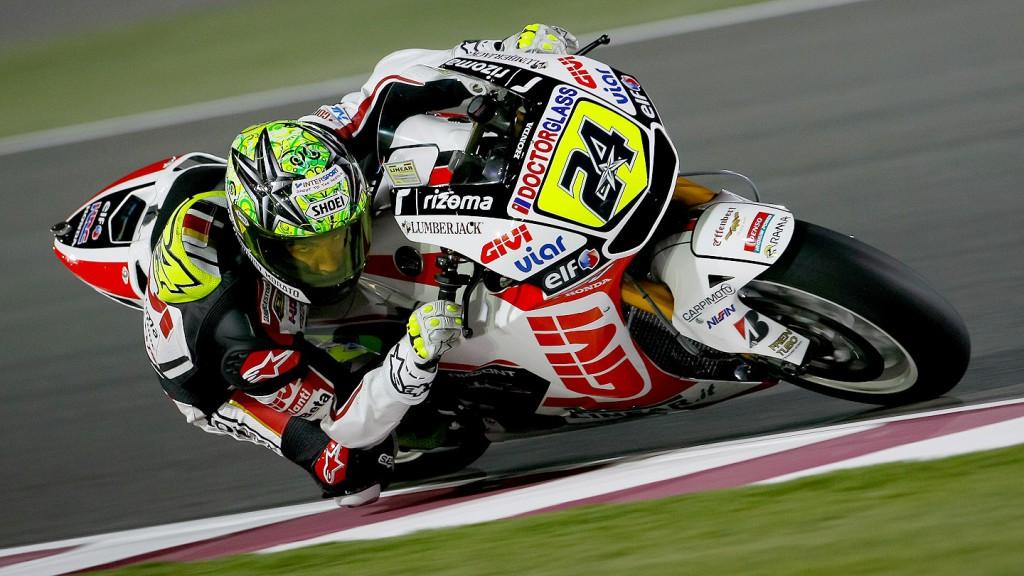 Toni Elias, LCR Honda MotoGP, Qatar FP1