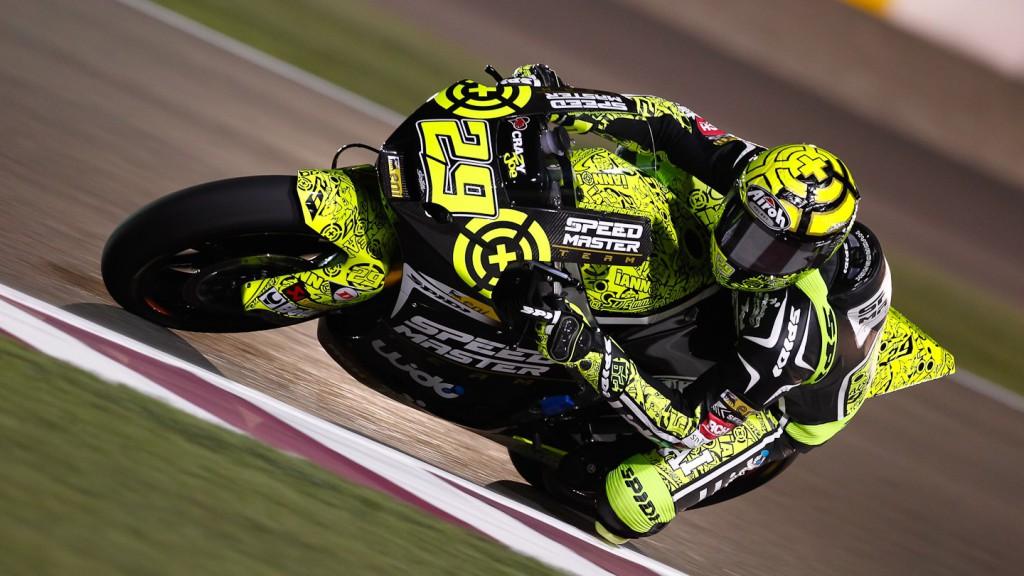 Andrea Iannone, Speed Master, Qatar FP1