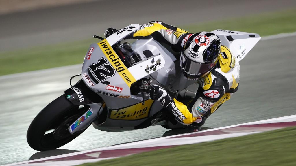 Thomas Luthi, Interwetten Paddock Moto2, Qatar FP1