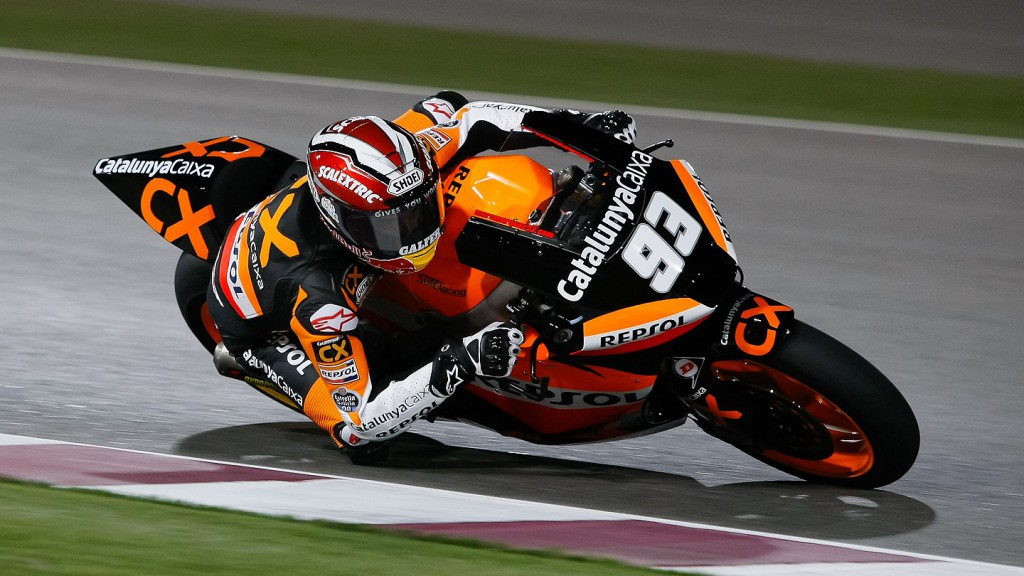 Marc Marquez, Team Catalunya Caixa Repsol, Qatar FP2