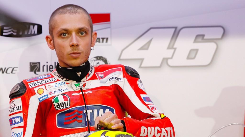 Valentino Rossi, Ducati Team, Qatar FP1