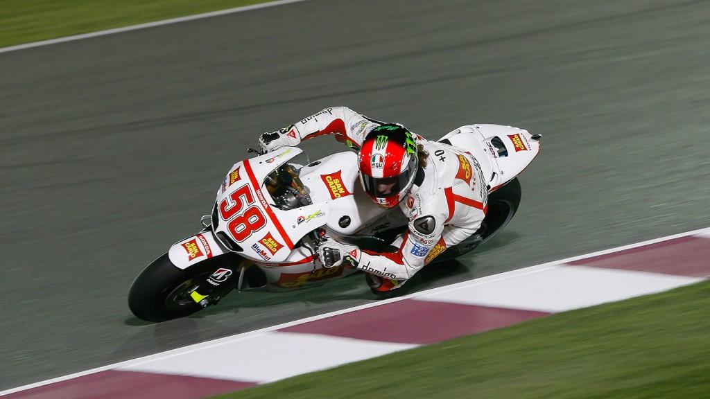 Marco Simoncelli, San Carlo Honda Gresini, Qatar FP1