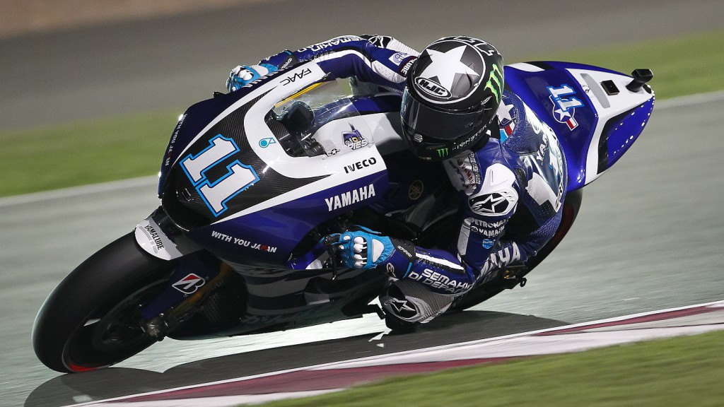 Ben Spies, Yamaha Factory Racing, Qatar FP1