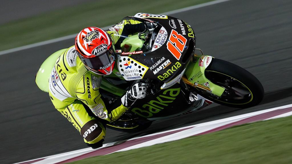 Nico Terol, Bankia Aspar Team, Qatar FP2