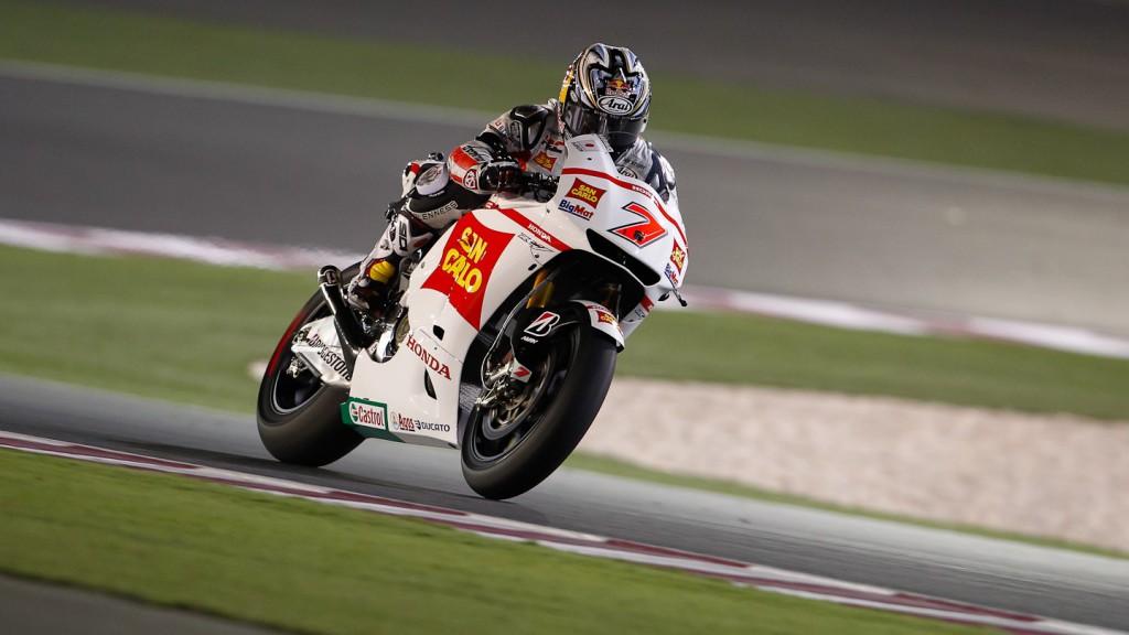 Hiroshi Aoyama, San Carlo Honda Gresini, Qatar FP3