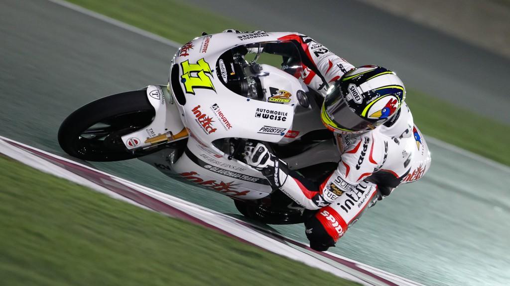 Sandro Cortese, Intact- Racing team Germany, Qatar FP3
