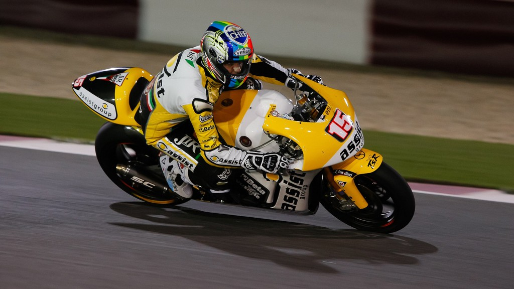 Alex de Angelis, JR Moto2, Qatar FP3