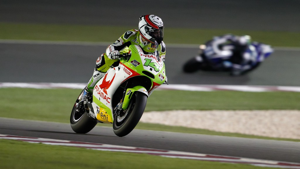 Randy de Puniet, Pramac Racing Team, Qatar FP3
