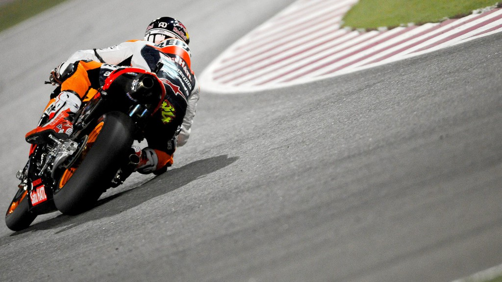 Andrea Dovizioso, Repsol Honda, Qatar FP2