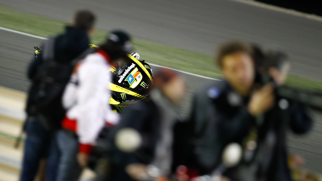 Colin Edwards , Monster Yamaha Tech 3, Qatar FP3