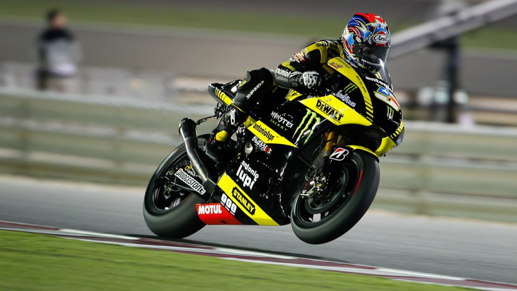Colin Edwards , Monster Yamaha Tech 3, Qatar FP3