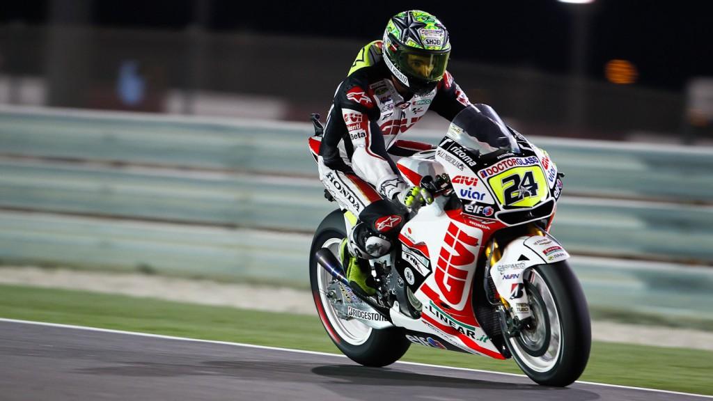 Toni Elias, LCR Honda MotoGP, Qatar FP3