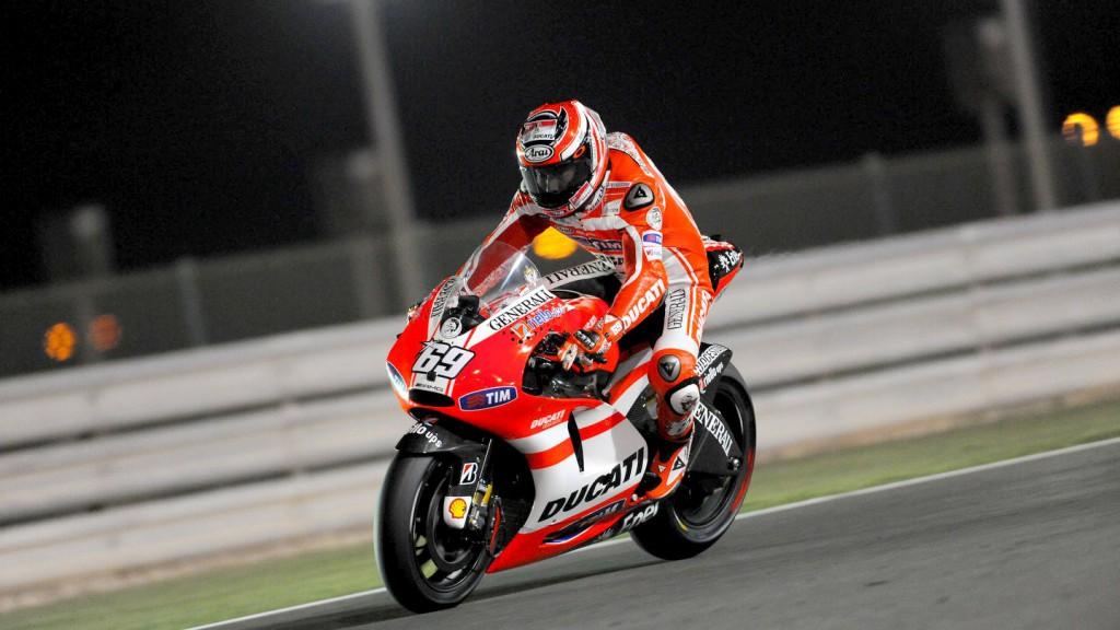 Nicky Hayden, Ducati Team, Qatar FP2