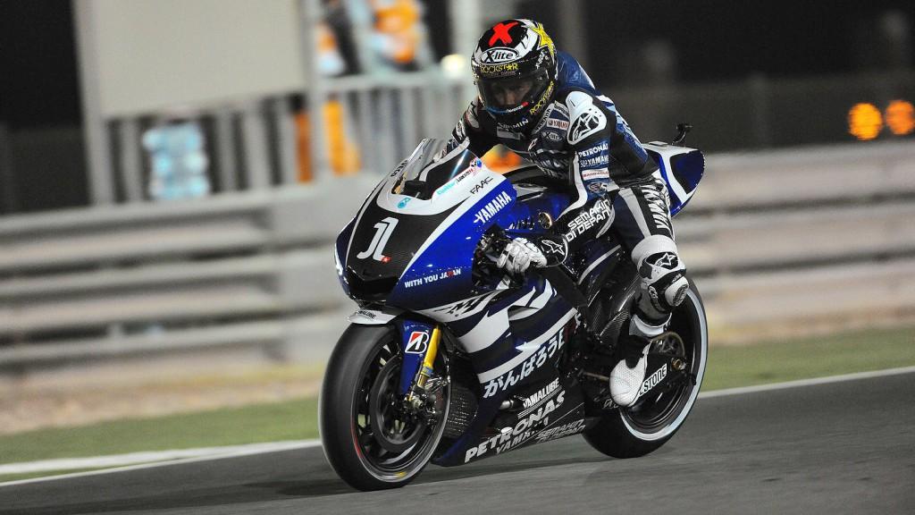 Jorge Lorenzo, Yamaha Factory Racing, Qatar FP2