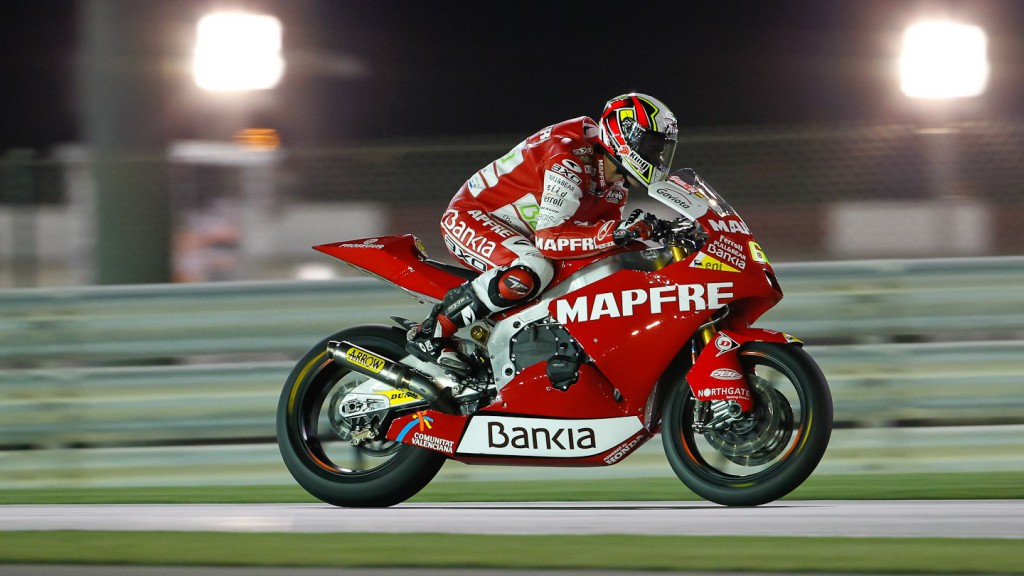 Julian Simon, Mapfre Aspar, Qatar FP3