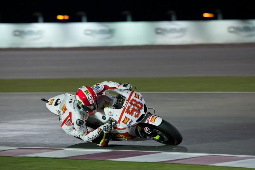 Marco Simoncelli, San Carlo Honda Gresini, Qatar FP3