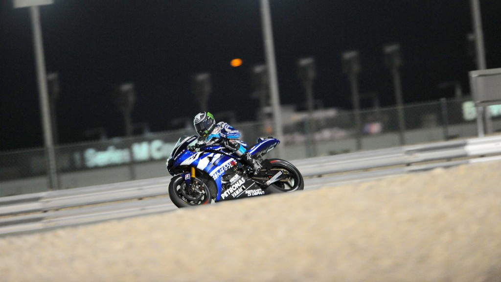 Ben Spies, Yamaha Factory Racing, Qatar FP2