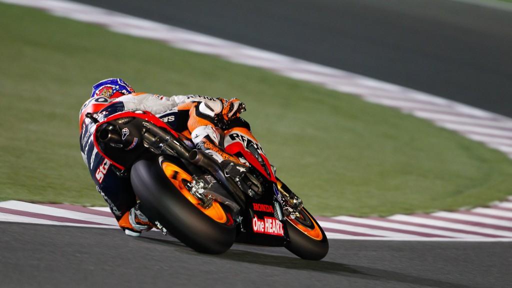 Casey Stoner, Repsol Honda, Qatar FP3