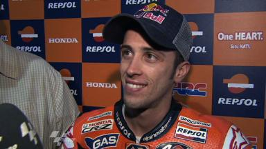 Dovizioso reflects on seventh in QP