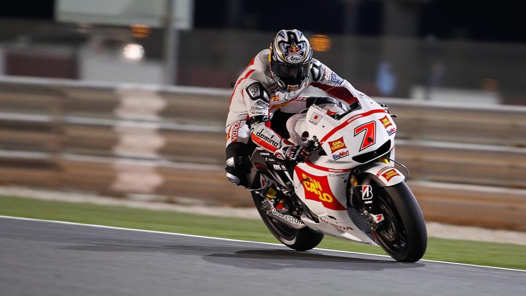 Hiroshi Aoyama, San Carlo Honda Gresini, Qatar QP