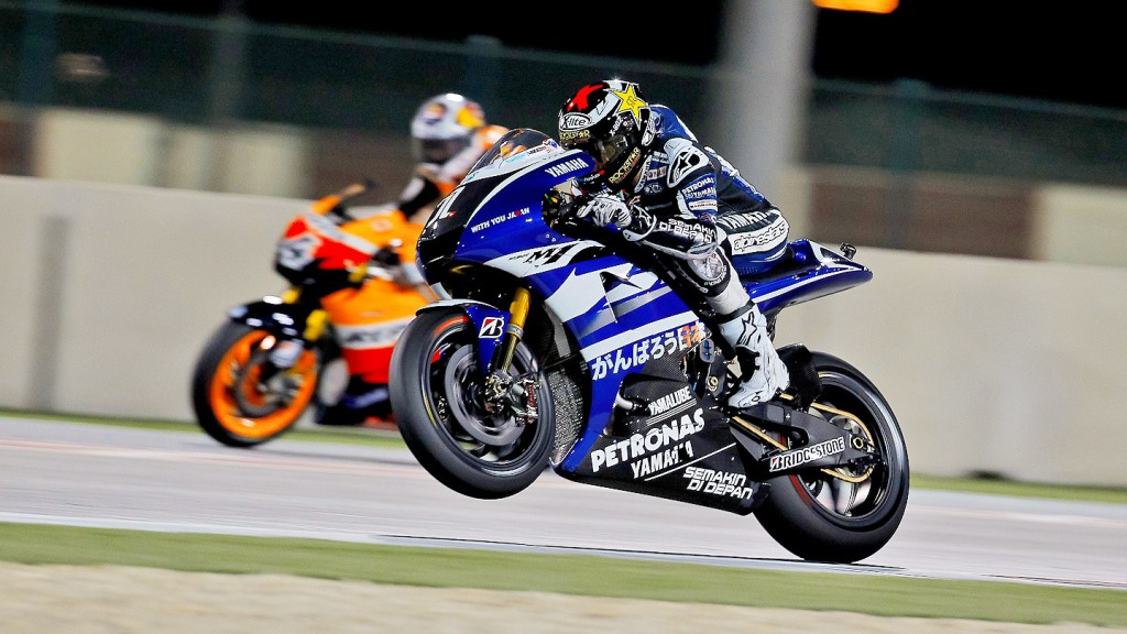 Jorge Lorenzo, Yamaha Factory Racing, Qatar QP
