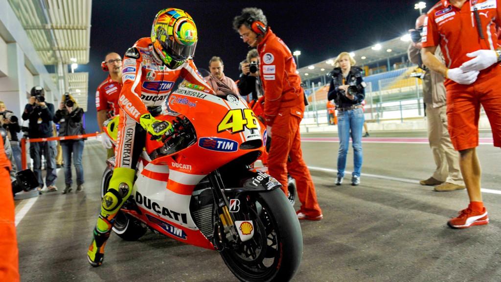 Valentino Rossi, Ducati Team, Qatar QP