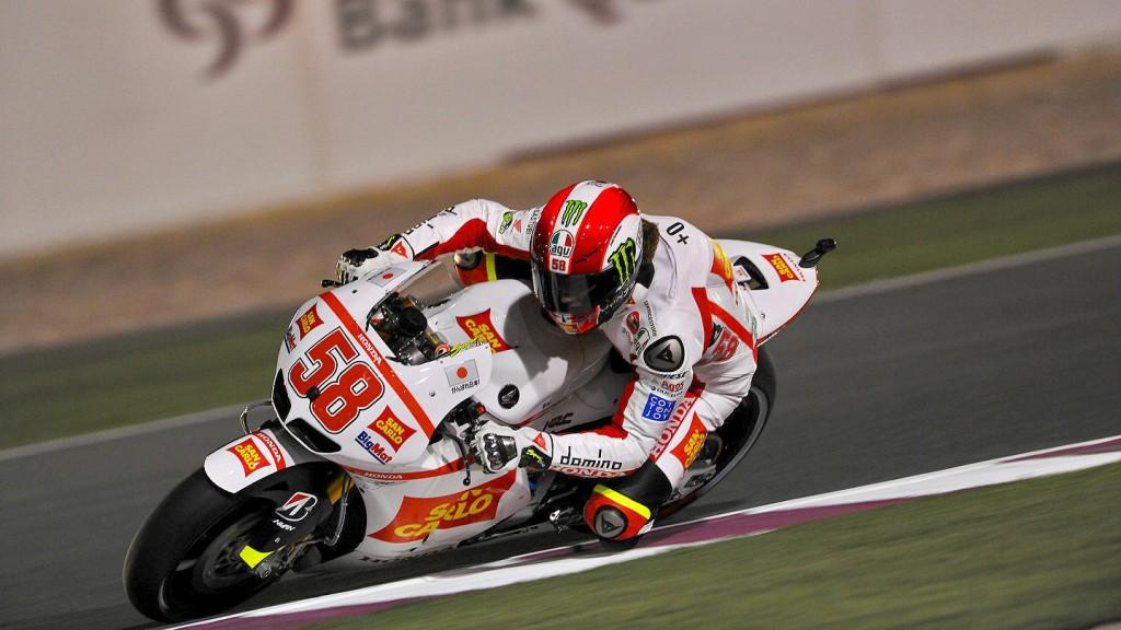 Marco Simoncelli, San Carlo Honda Gresini, Qatar QP
