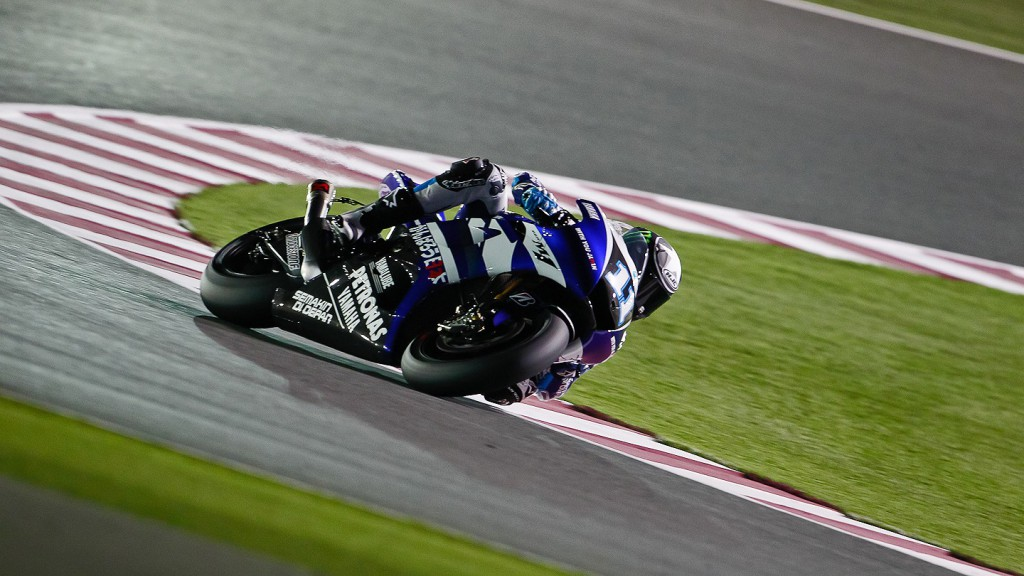 Ben Spies, Yamaha Factory Racing, Qatar QP