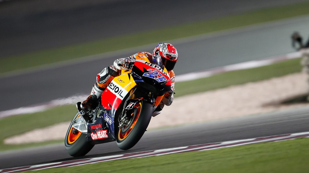 Casey Stoner, Repsol Honda, Qatar QP