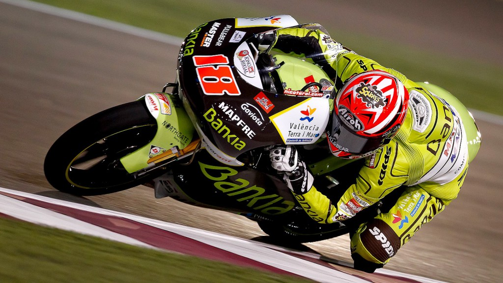 Nico Terol, Bankia Aspar Team, Qatar Warm Up