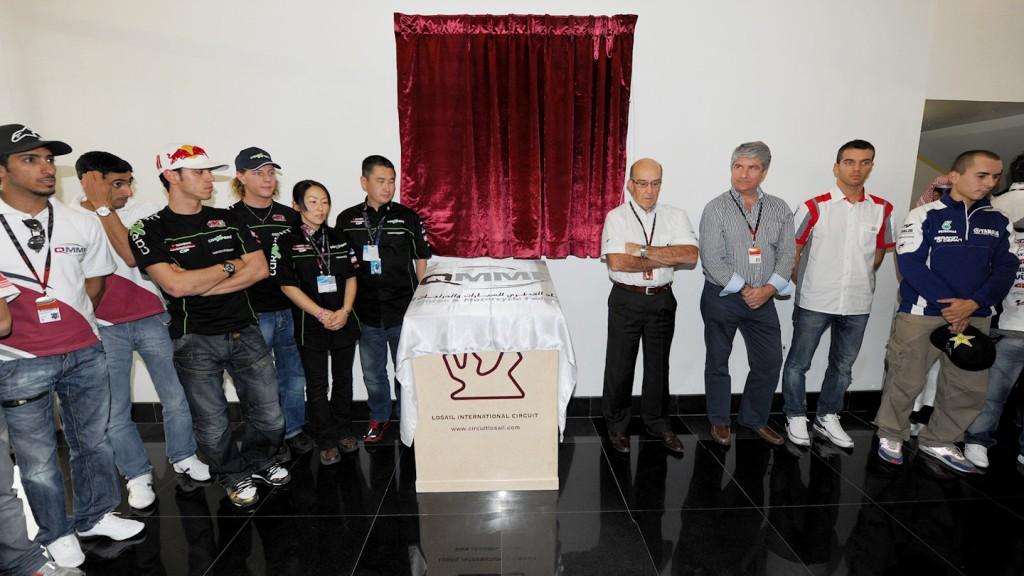 Shoya Tomizawa tribute, Qatar