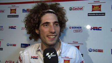 Simoncelli pleased with top-five result