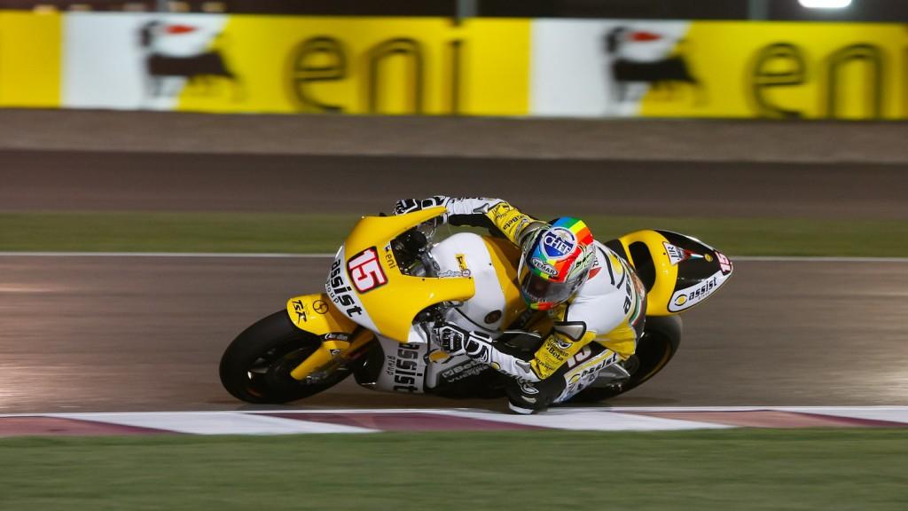 Alex De Angelis, JIR Moto2, Qatar Race