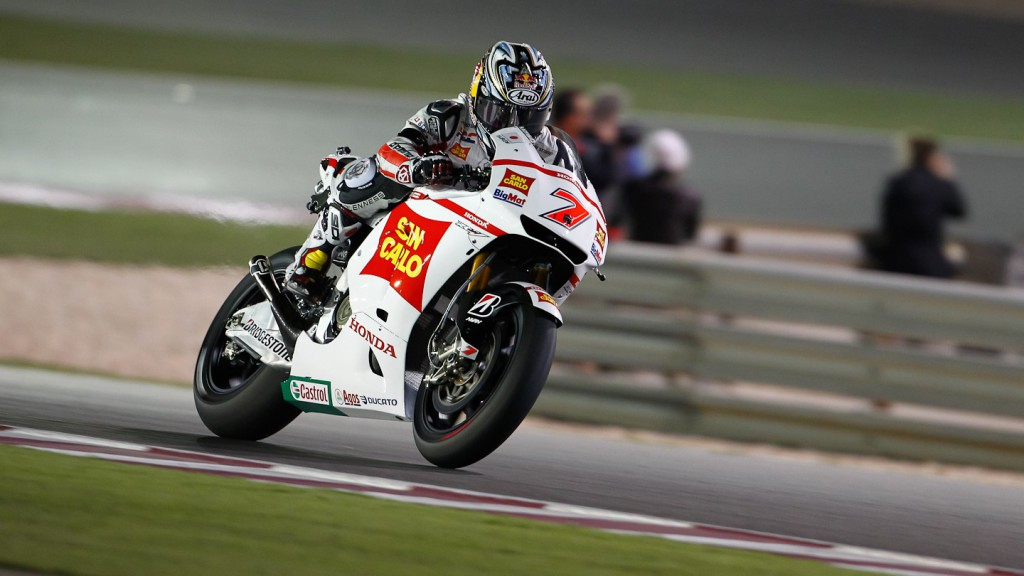 Hiroshi Aoyama, San Carlo Honda Gresini, Qatar Race