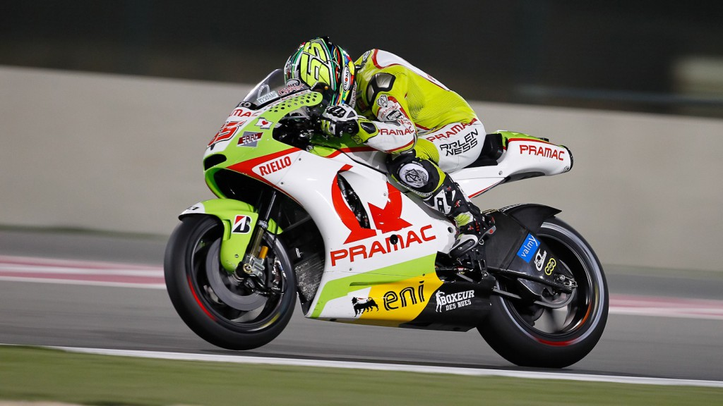 Loris Capirossi, Pramac Racing Team, Qatar Race
