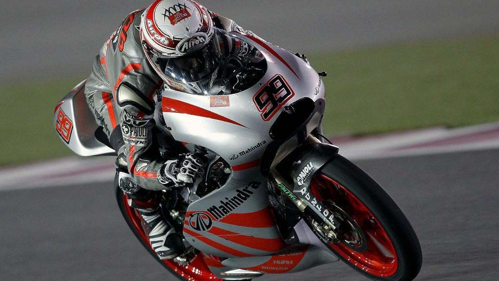 Danny Webb, Mahindra Racing, Qatar Race